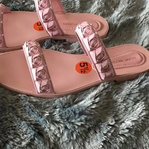 Stuart Weitzman Rosina slide sandal, never worn